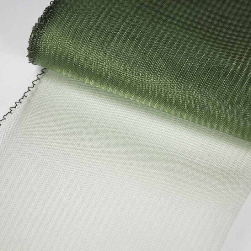 Forest Green Horsehair 100% quality polyester, very flexible, used in making hats and for trim work