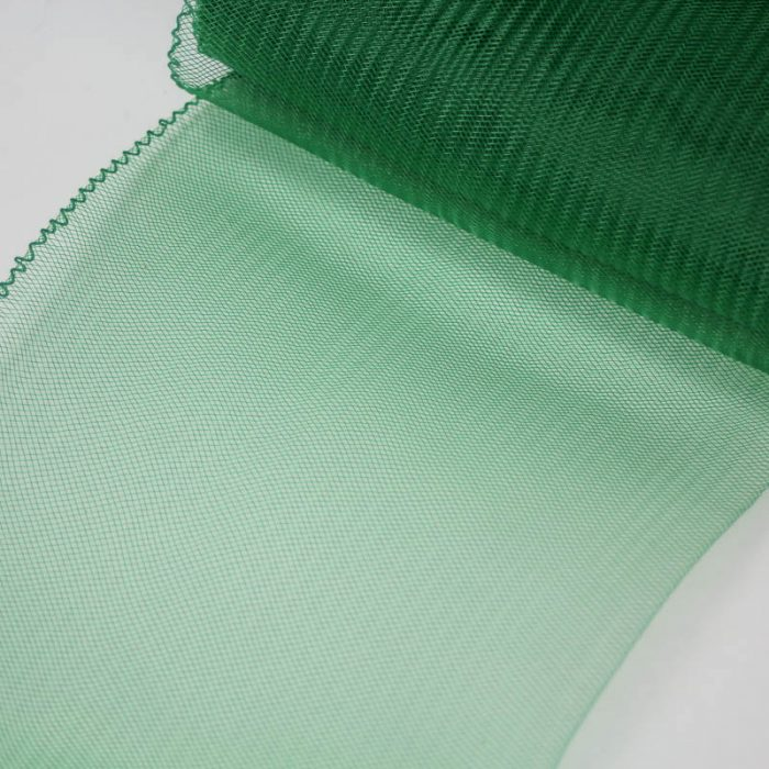 Emerald Green Horsehair 100% quality polyester, very flexible, used in making hats and for trim work.