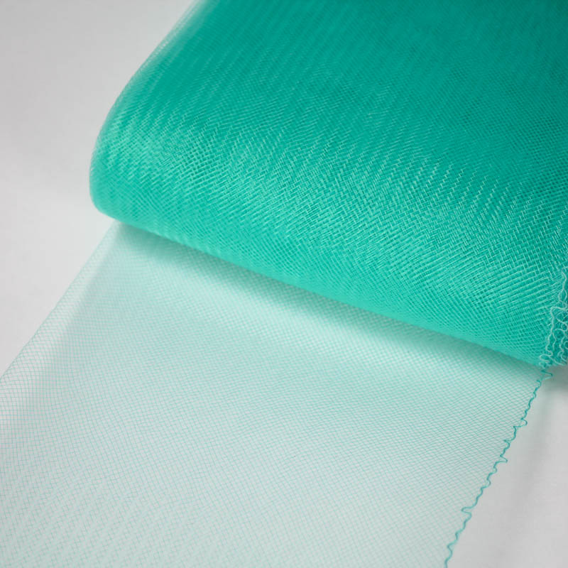 Aqua Green Horsehair 100% quality polyester, very flexible, used in making hats and for trim work.