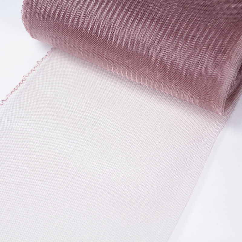 Dusty Rose 100% quality polyester, very flexible, used in making hats and for trim work.