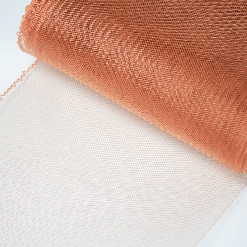 Muskmelon Horsehair 100% quality polyester, very flexible, used in making hats and for trim work.