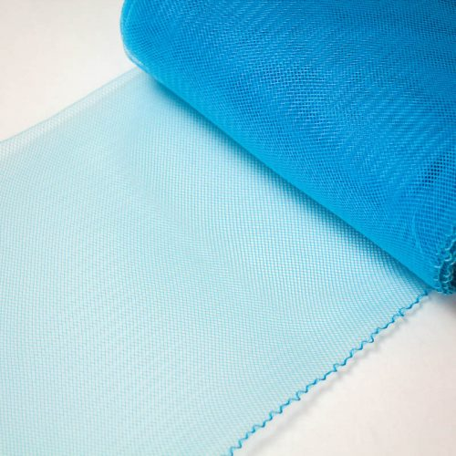 Turquoise Horsehair 100% quality polyester, very flexible, used in making hats and for trim work.