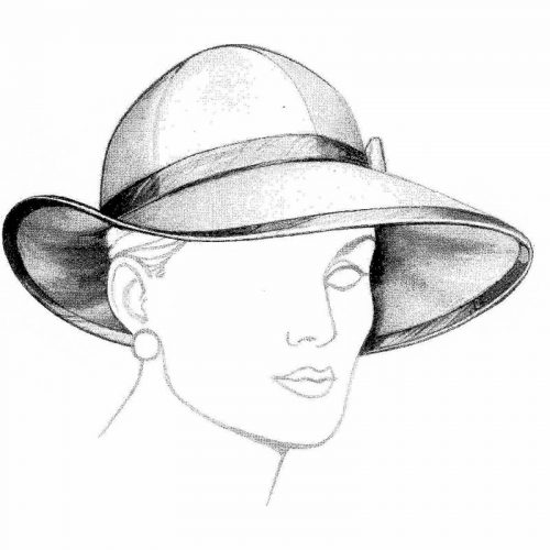 Be a winner in this profile hat pattern.