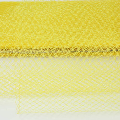 Yellow Standard diamond pattern with 1/4 inch opening, 8-9 inch width,