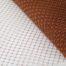 Rust A terra cotta or rust Merry Widow pattern with 1/2 inch diamond opening, 12 inch width, 100% nylon.