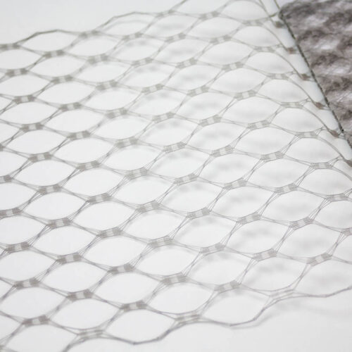 Grey This resembles the vintage wider weave veiling of yesteryear.