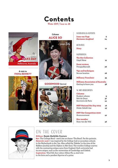 Hatlines Magazine Winter Issue 68