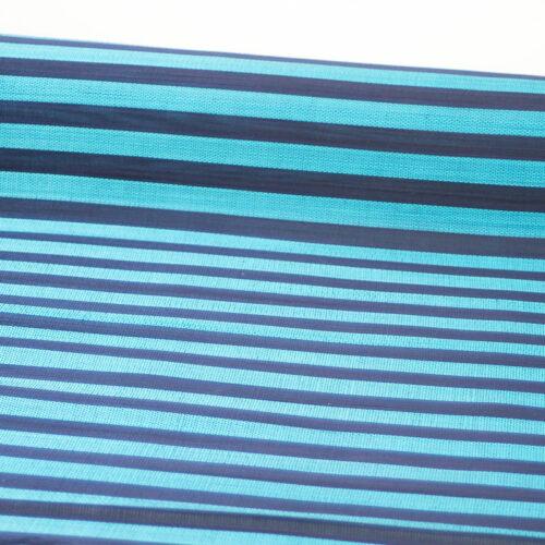 Turquoise-Navy Stripe Jinsin buntal