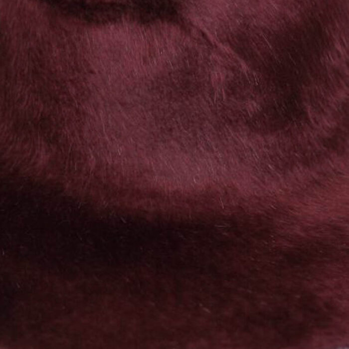 Dark burgundy. Brims are size 16/17 inch brim width (113 grams).