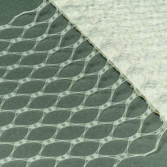 Ivory This resembles the vintage wider weave veiling of yesteryear