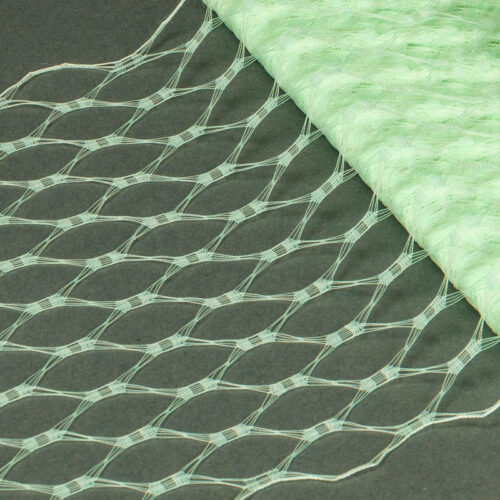 Mint This resembles the vintage wider weave veiling of yesteryear.