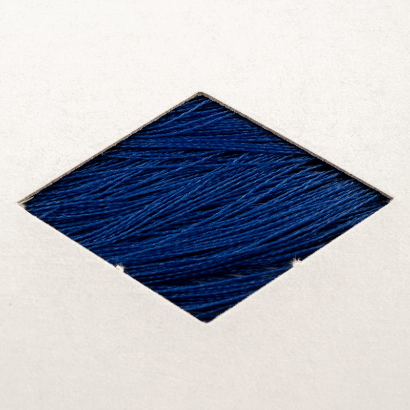 Made in USA silamide waxed thread, size 24, 675 yds per skein.