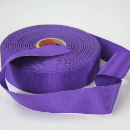 Purple Petersham #9 50yd roll