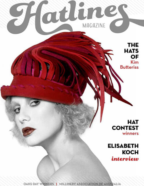 Winter interview with Elisabeth Koch, the hat collection of Kim Butteriss, a report about the NHV Hat Day and the NHV Hat Competition 2020, news from the Millinery Association of Australia